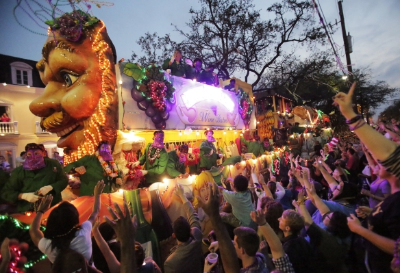 Image: Mardi Gras weekend in New Orleans, Louisiana USA