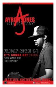 Ayron Jones Poster