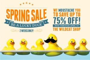 Spring Sale WCA
