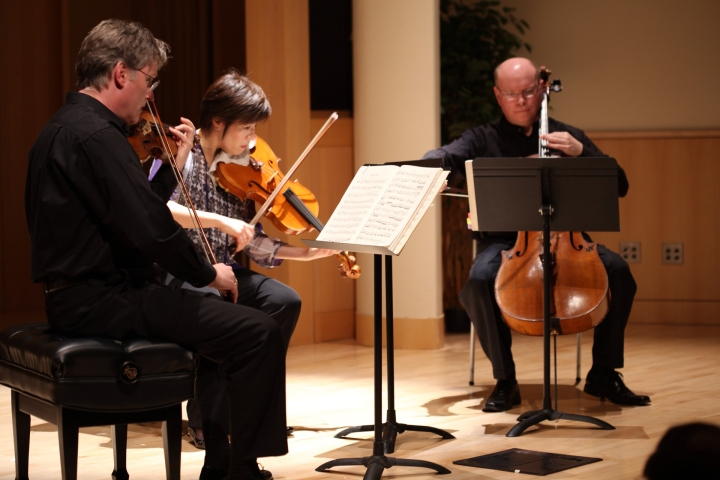Aspen String Trio hits the Central Stage
