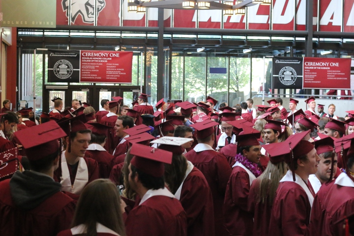 CWU Graduation 2017